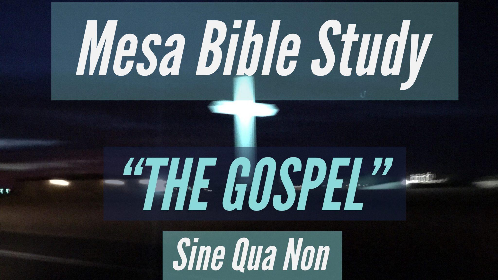 Mesa Bible Study Logo