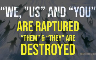"""Them"" and ""They"" Will Face Destruction Not ""Us"", ""We"" and ""You"""