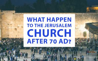"""What Happen to the Jerusalem Church """"Assembly"""" or ekklēsia after 70 AD?"""