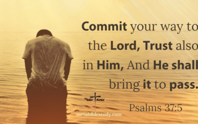 """Commit """"Everything"""" to God with a Humble Heart, be Patient and He Will Answer"""