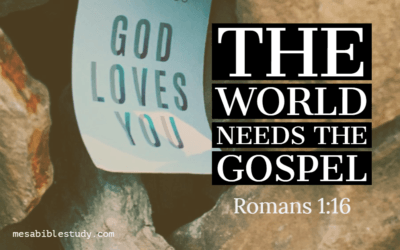 'Salvation' and the Gospel Are of First Importance to the Lord but Not to the Church