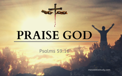 Sing Praises to God for His Power and His Great Love Shown through His Son 'Jesus Christ'